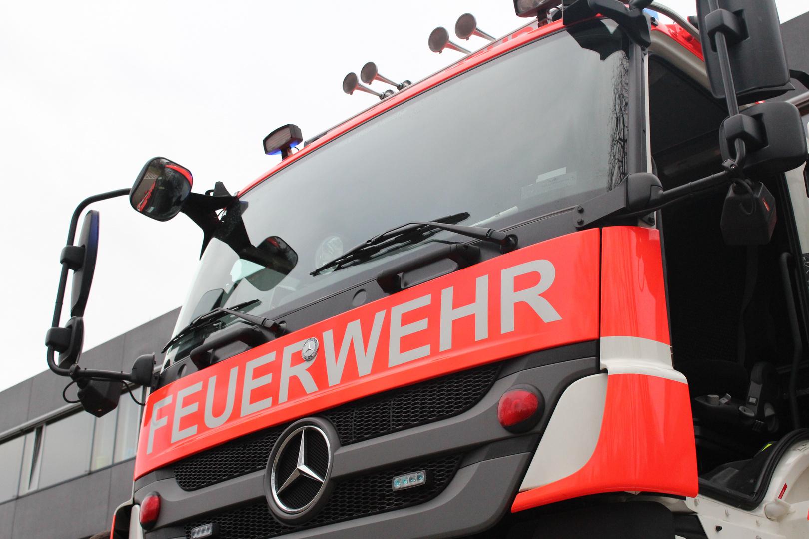 Das Führerhaus eines Schienenfahrzeugs der Berufsfeuerwehr Frankfurt am Main II