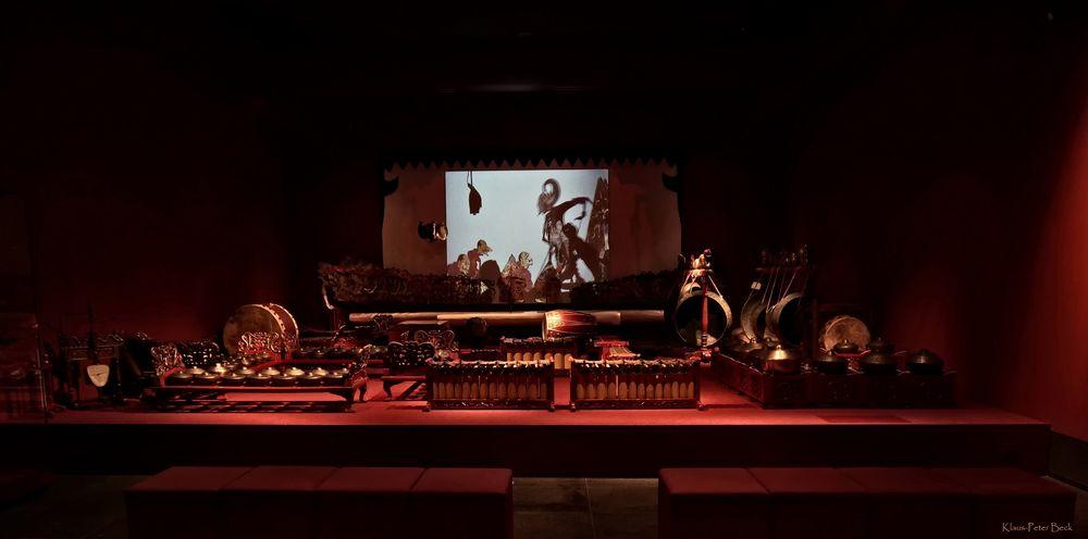 Das Gamelan Instrumentenensemble