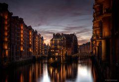 das gefühlte Brandenburger Tor: Speicherstadt in Hamburg