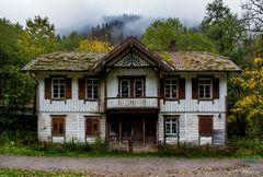 Das Geisterhaus - Betreten verboten.