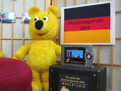 Das gelbe Bär Wahlstudio - Bundestagswahl 2005 (2)
