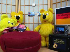 Das gelbe Bär Wahlstudio - Bundestagswahl 2005