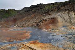 Das Geothermalgebiet in Krisuvik