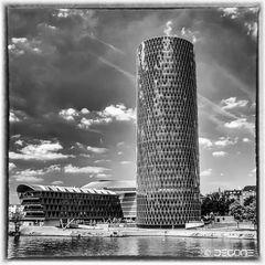 """""""Das Gerippte"""" der Westhafentower in Frankfurt/Main"""