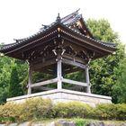 Das Glockenhäuschen des buddistischen Tempels