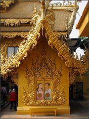 Das goldene WC ...
