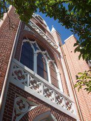Das Gotische Haus im Wörlitzer Park - Fassadendetail