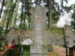 Das Grab des Sandwichs-Insulaners Maitey