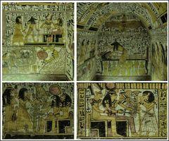 Das Grab TT 219 des Nekropolenarbeiter des Neb-en-maat in Deir el-Medine - Theben West.