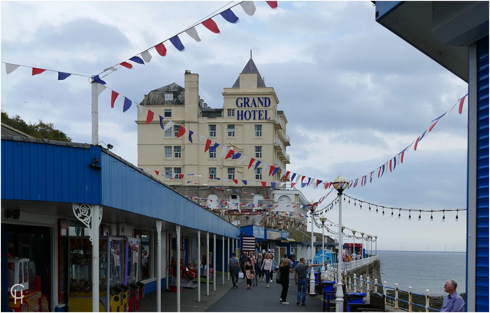 Das Grand Hotel in Llandudno, Wales