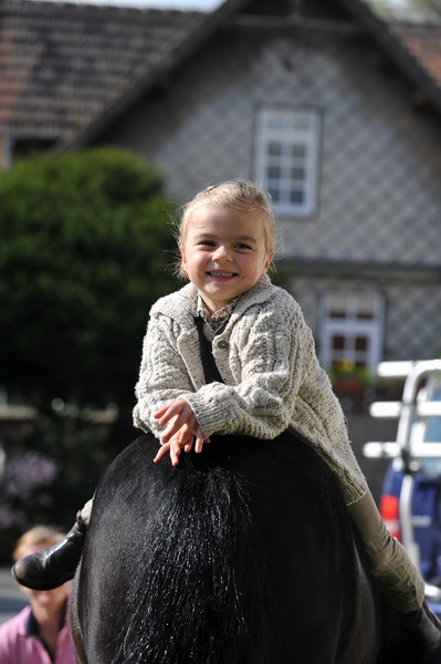 Das größte Glück der Erde liegt auf dem Rücken der Pferde