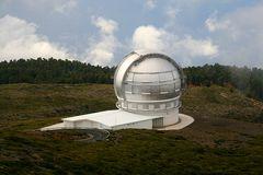 Das größte Teleskop der Welt...