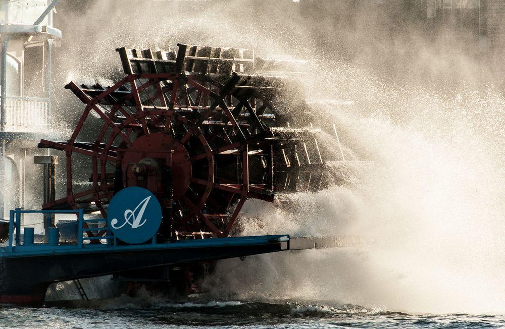 """Das grosse """"A"""" des Hamburger Hafens"""