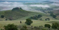 das Gut Belvedere in der Toscana