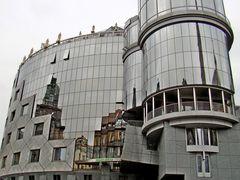 Das Haas-Haus am Wiener Stephansplatz!