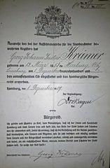 Das Hamburgische Bürgerrecht