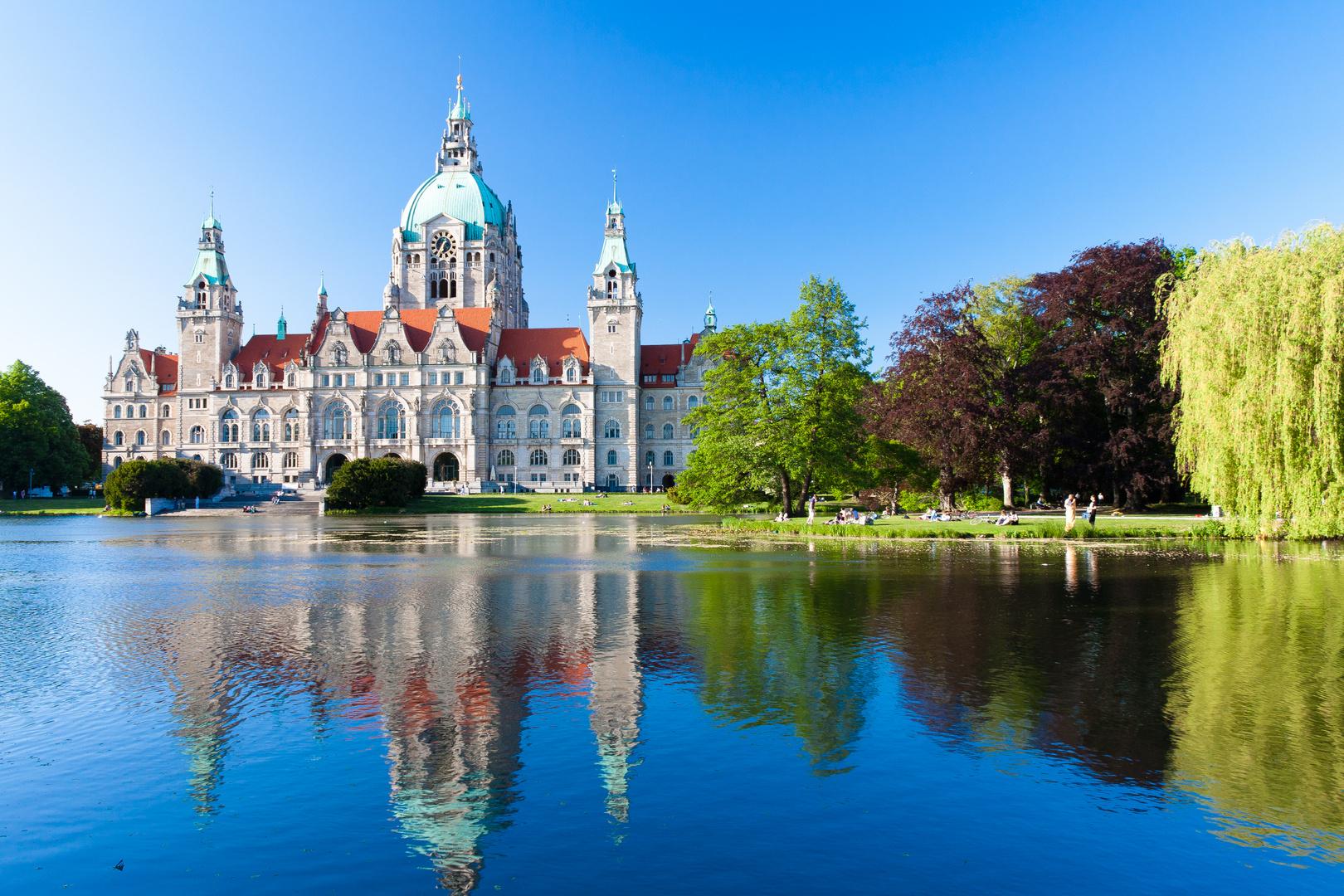 Das Hannoveraner Rathaus