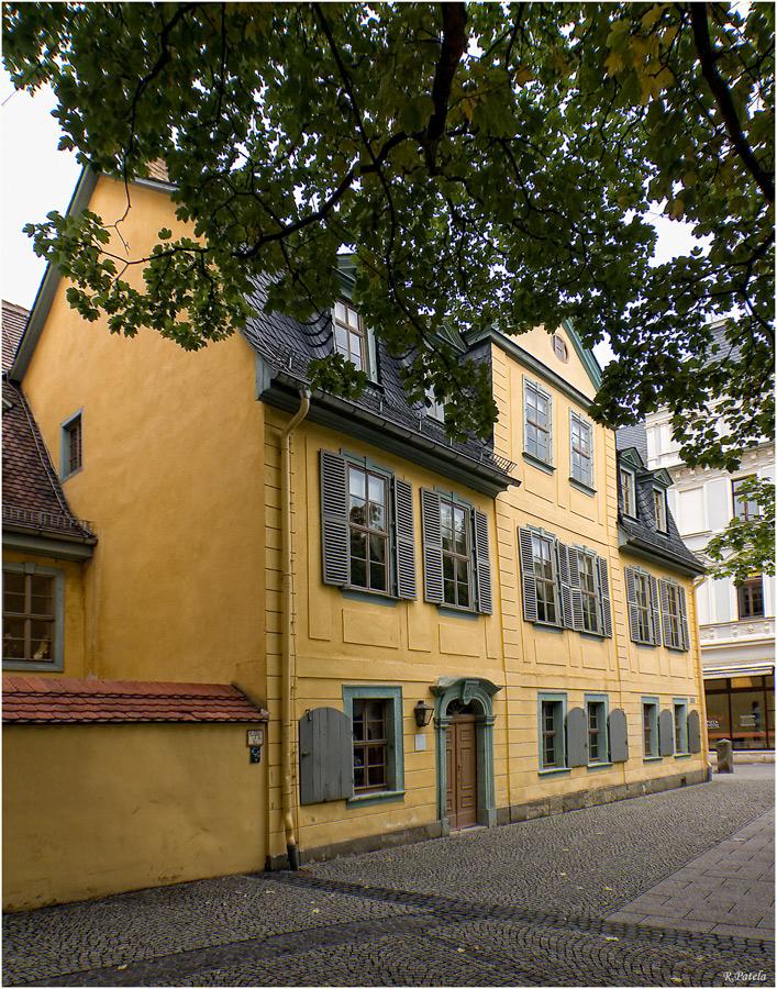 Das Haus der Familie Schiller Foto & Bild | deutschland