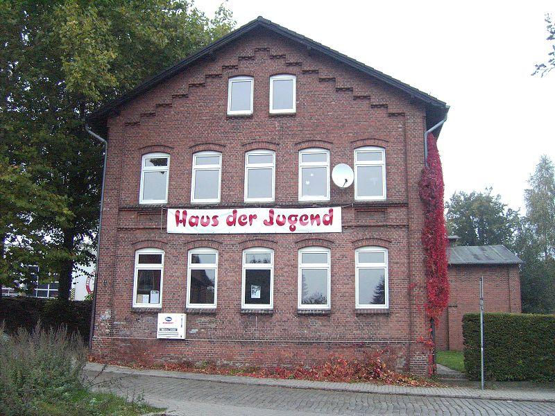 "Das ""Haus der Jugend"" in Kellinghusen ..."