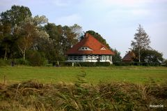 Das Haus Karusel in Vitte/ Hiddensee.