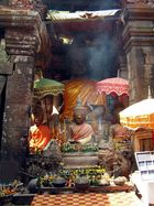 Das Heiligtum im Wat Phou
