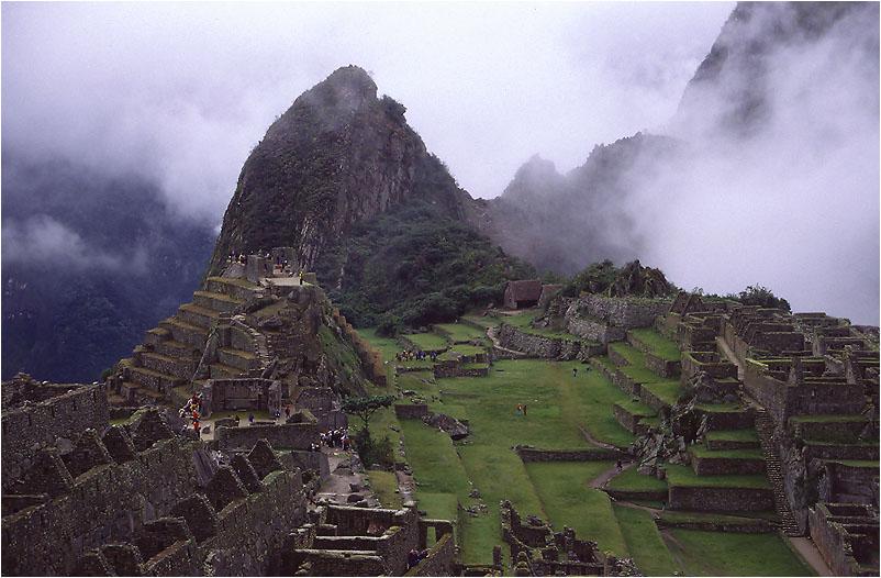 Das Heiligtum in den Wolken