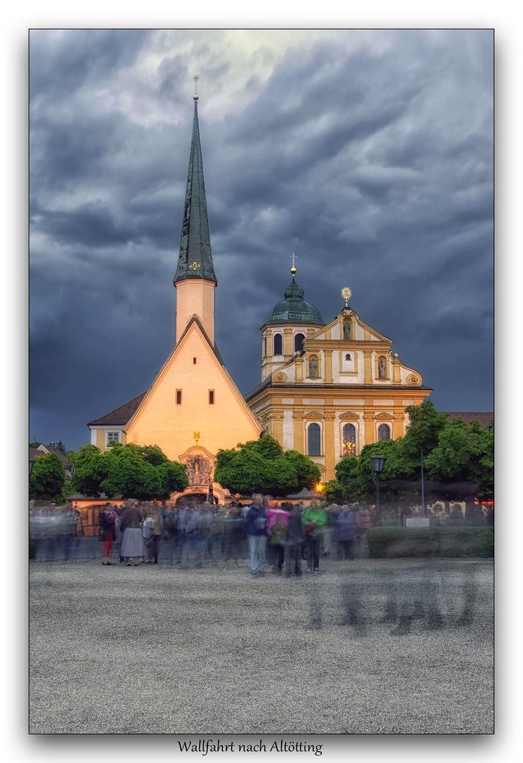 Das Herz Bayerns - Wallfahrt nach Altötting