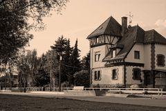 Das Hexenhaus an der Donau- Promenade
