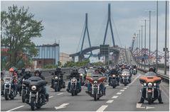 das Highlight der Parade ist die Brücke