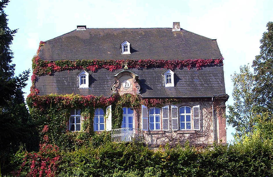 Das Hilbringer Schloss ...