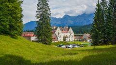 Das historische Mary Portman House des Hotel Kranzbach
