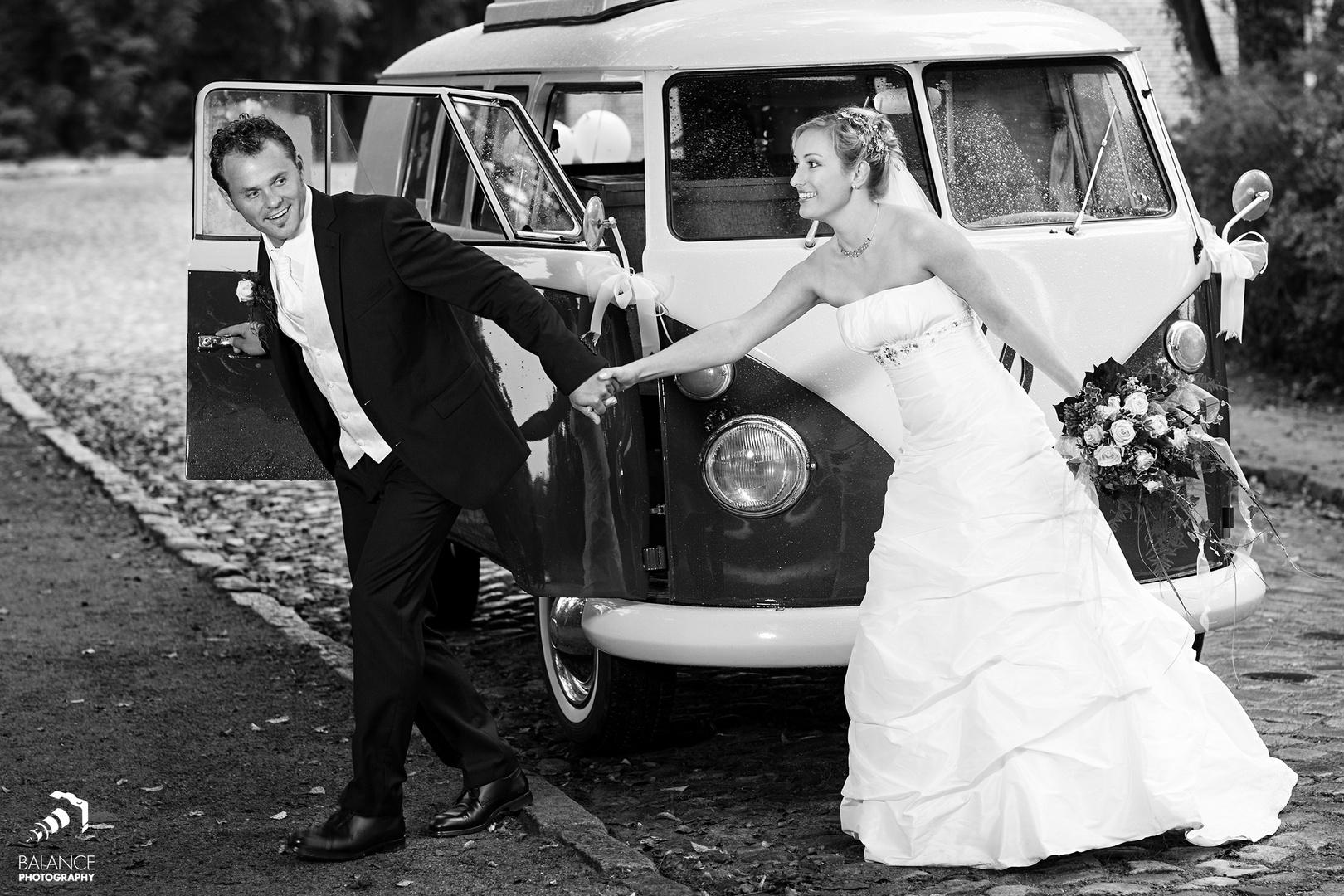 Das Hochzeitsshooting