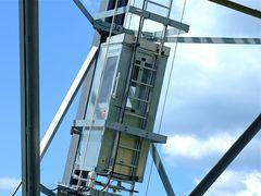 Das höchste Windrad (I)***Der Weg nach oben***Entweder Fahrstuhl oder ?