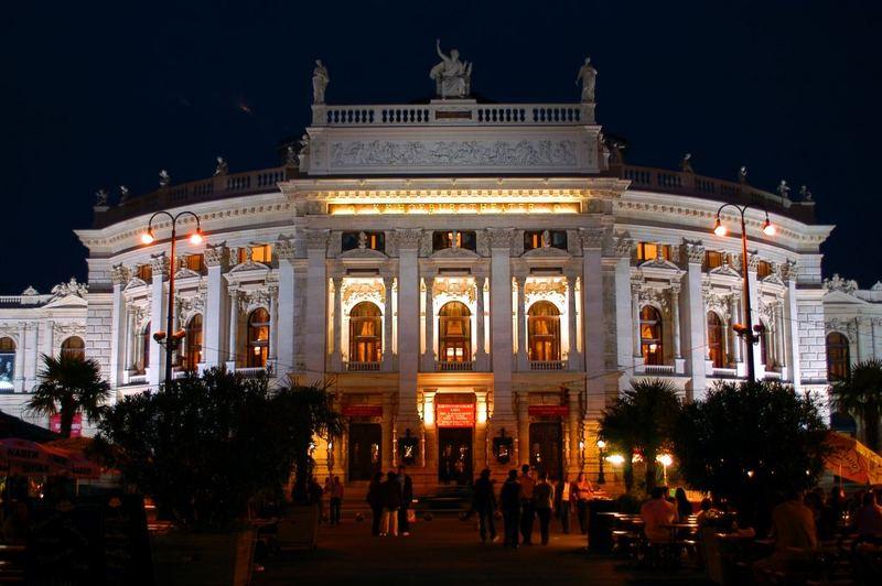 Das Hofburgtheater in Wien