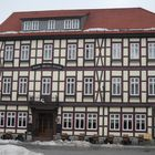 Das Hotel in Wernigerode im Winter