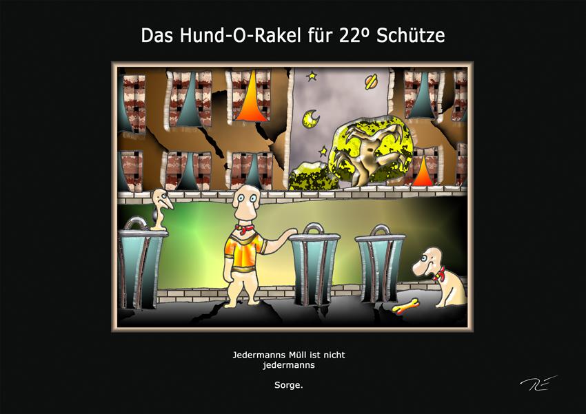 Das Hund-O-Rakel für 22º Schütze