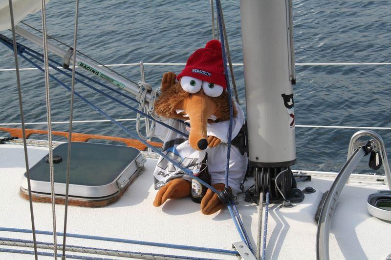 das ist der Käptain dieser Yacht