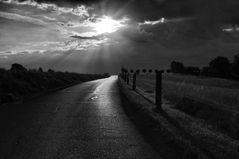 Das ist der Weg zur Sonne....