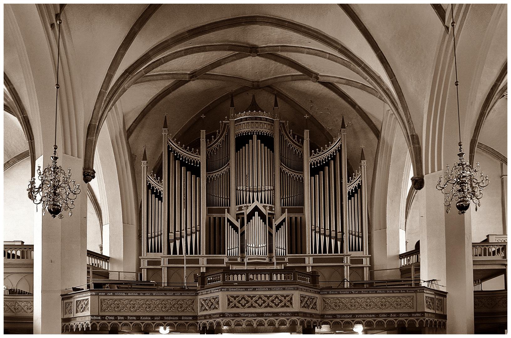 """""""Das ist ein köstlich Ding"""" Sauer- Orgel in der Stadtkirche Wittenberg"""