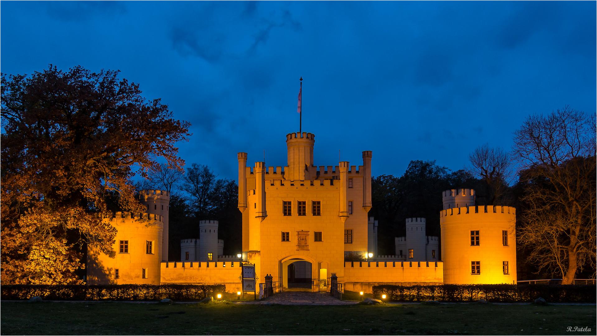 Das Jagdschloss Letzlingen...