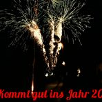 Das Jahr geht .....