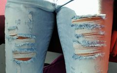 ... das Jeans-Muster !