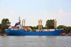 """Das Jugendschiff """"Likedeeler"""" in Rostock"""