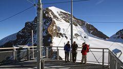 Das Jungfraujoch im BOL der Schweiz ist ein gutes Bild...