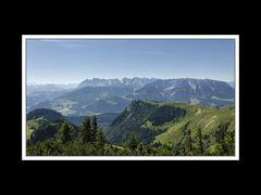 Das Kaisergebirge vom Breitenstein