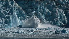 das kalben der gletscher