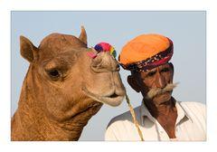 Das Kamel und sein Meister
