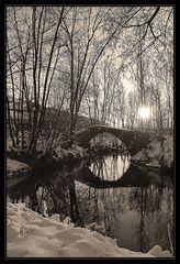 Das Kamelbrückle im Winter 2014