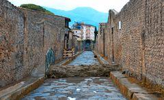 Das Kanalsystem von Pompeji