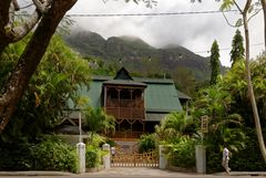 """Das """"Kenwyn House"""", eines der ältesten Beispiele französischer Kolonialarchitektur"""